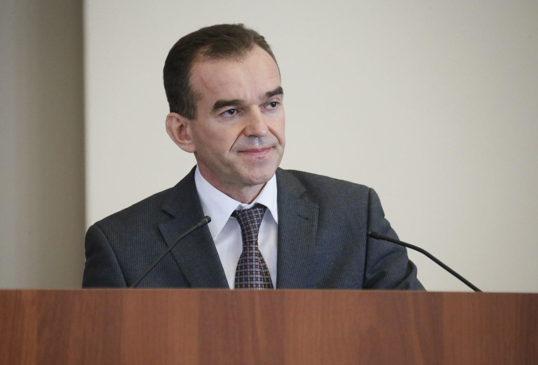 На фото: губернатор Краснодарского края Вениамин Кондратьев