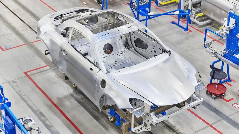 Производство Alpine A110