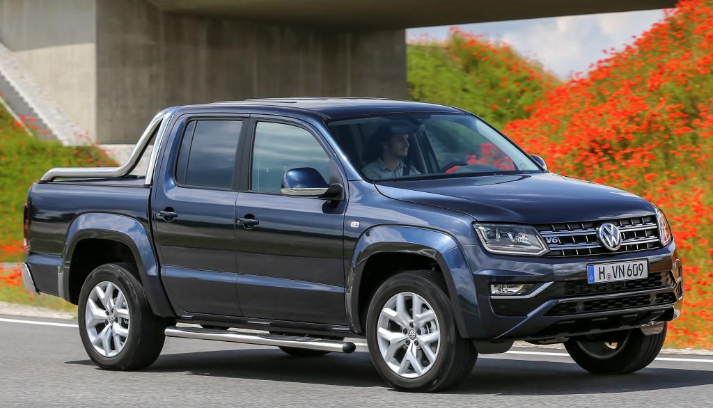 На фото: обновленный Volkswagen Amarok