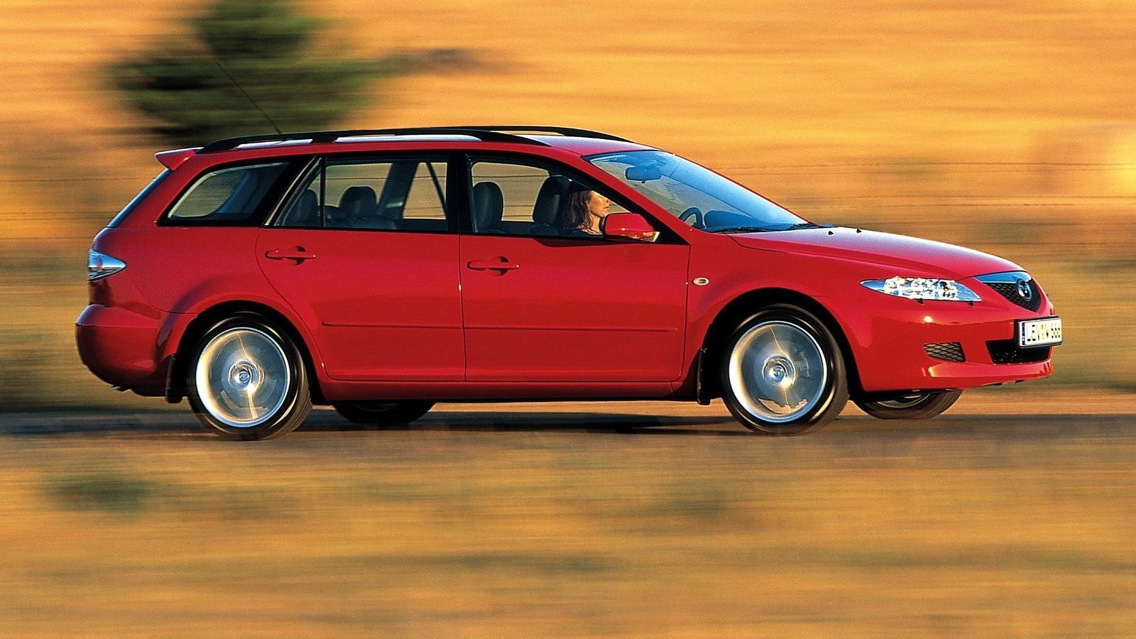 На фото: Mazda6 Wagon (GY) '2002–05