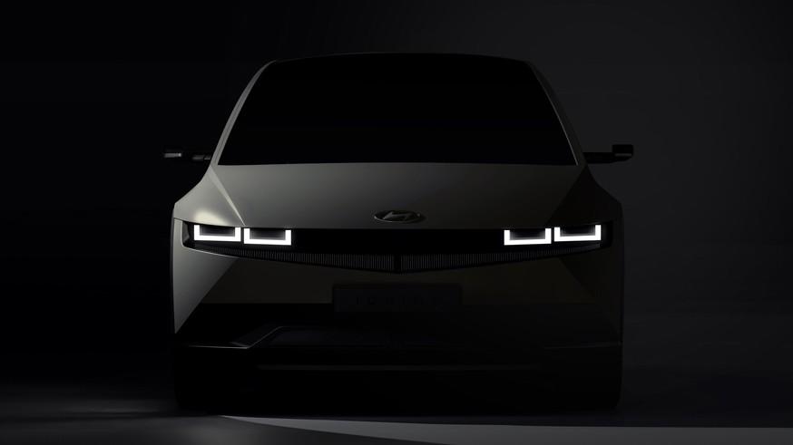 Hyundai дразнит новыми изображениями Ioniq 5 в преддверии скорой премьеры