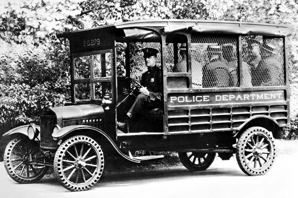 Ford Model T для полиции 1925