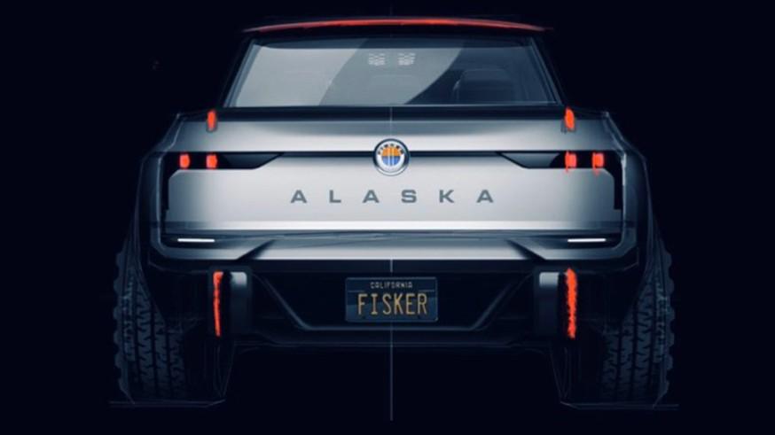 Fisker готовит новинку: представлен тизер пикапа, который могут назвать Alaska