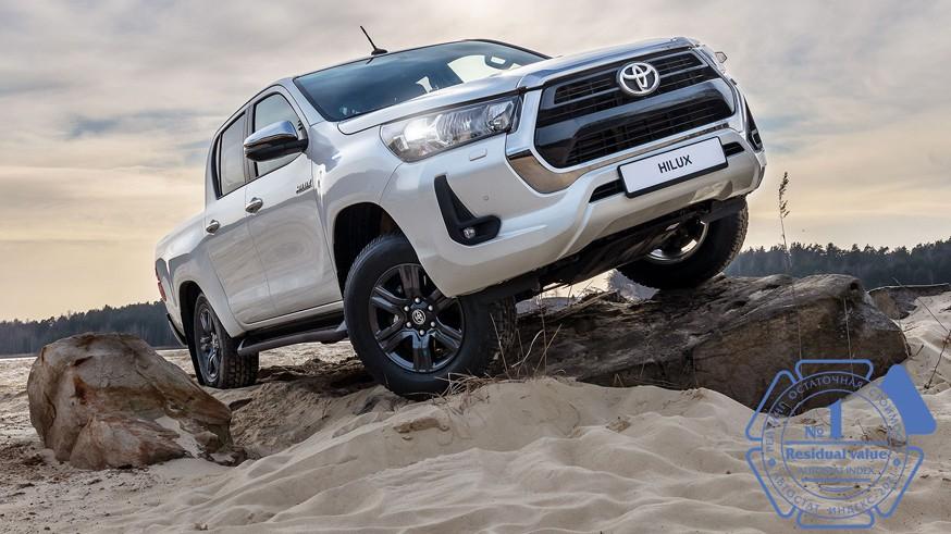 Автомобили Toyota являются лидерами в рейтинге остаточной стоимости в своих классах