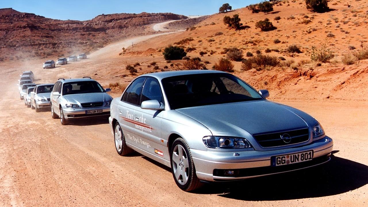 На фото: Opel Omega (B2) '1999–2003