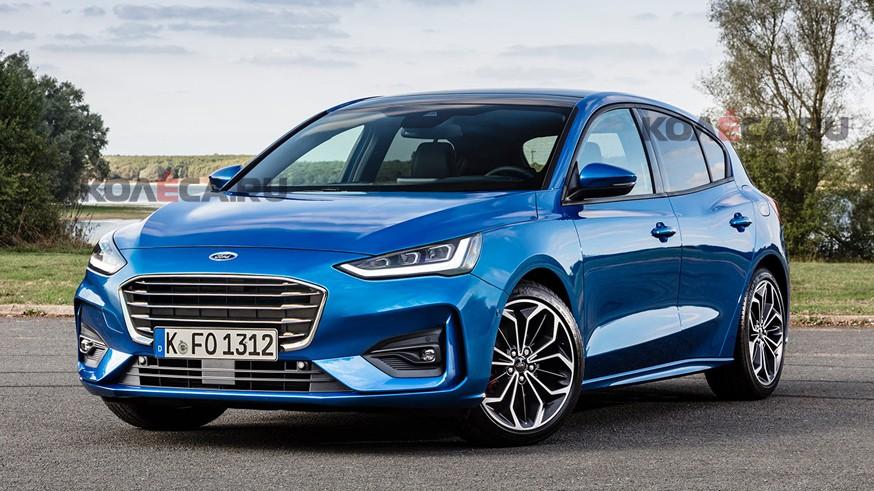 Ford готовит рестайлинговый Focus: новое изображение будущей новинки