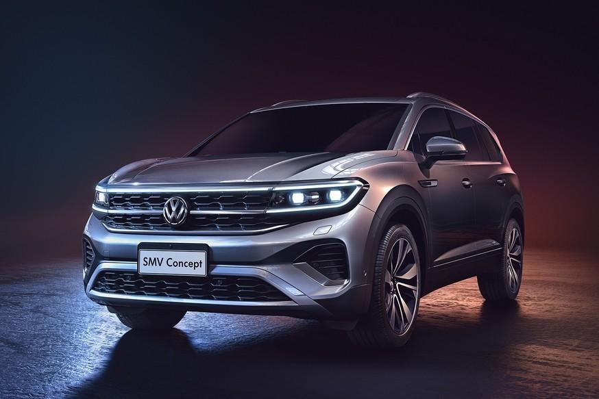 В линейке Volkswagen скоро появится кроссовер, который будет больше Teramont