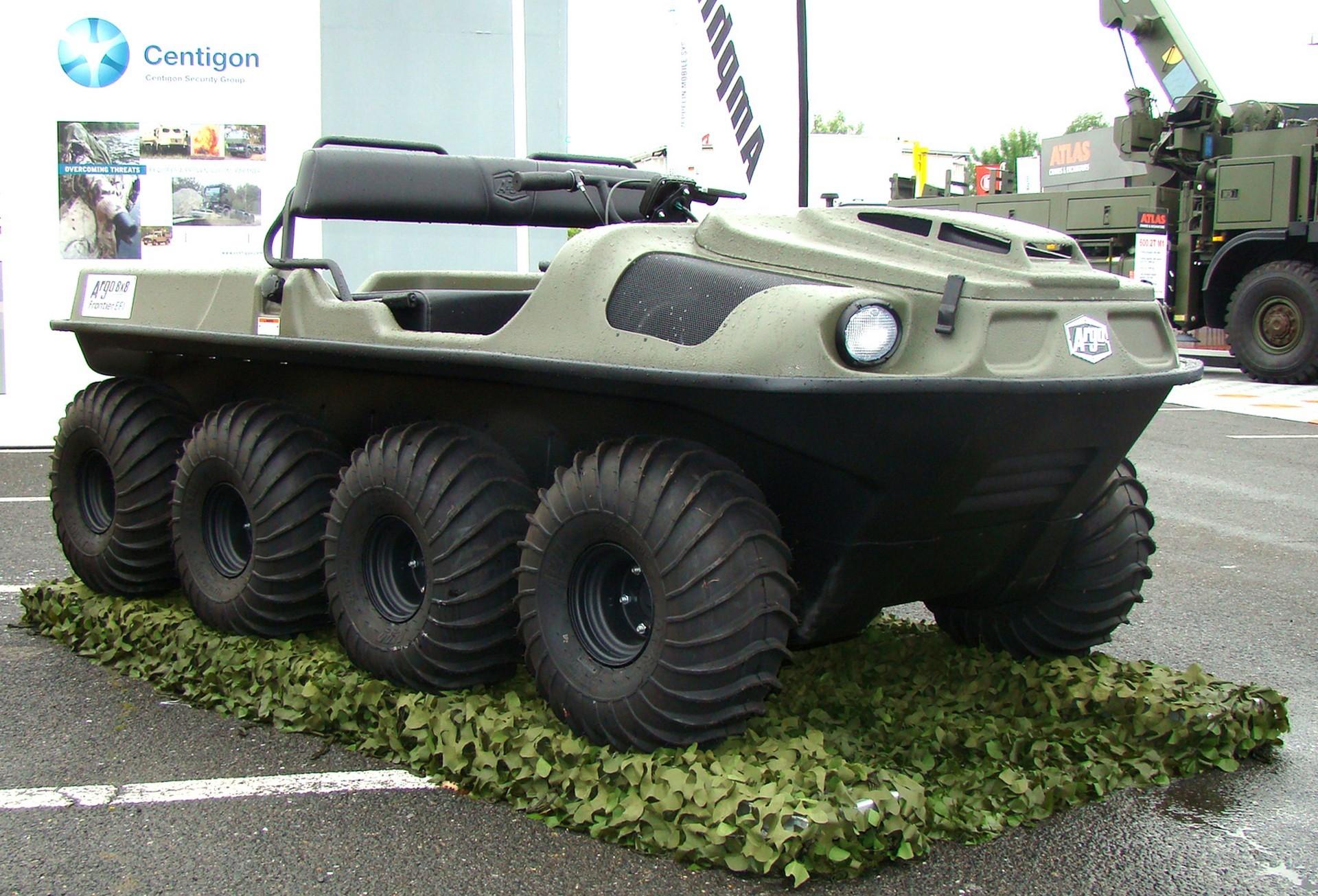 Патрульный минивездеход Argo Frontier EFI для пограничной охраны