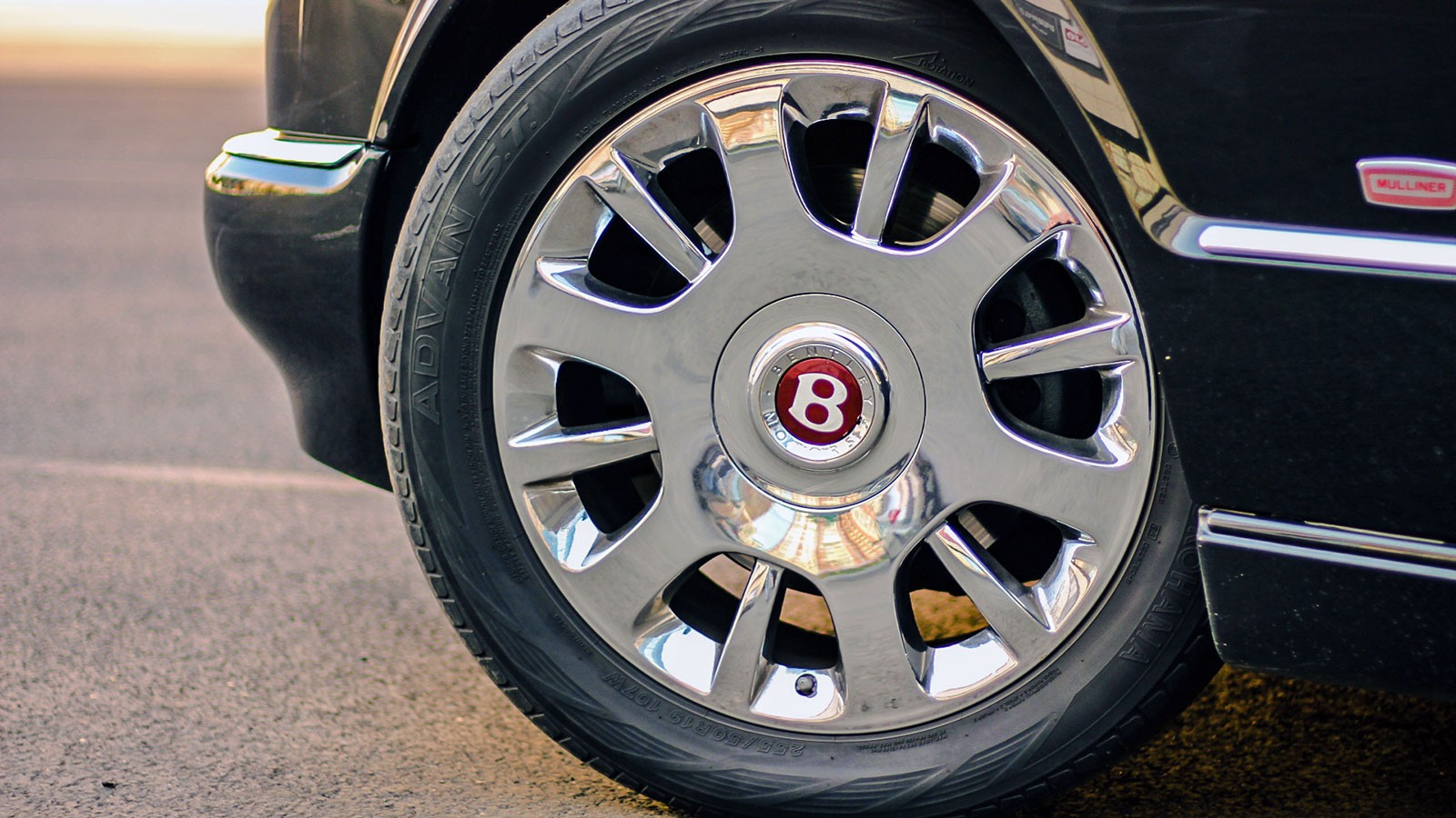 Benltley Arnage колеса