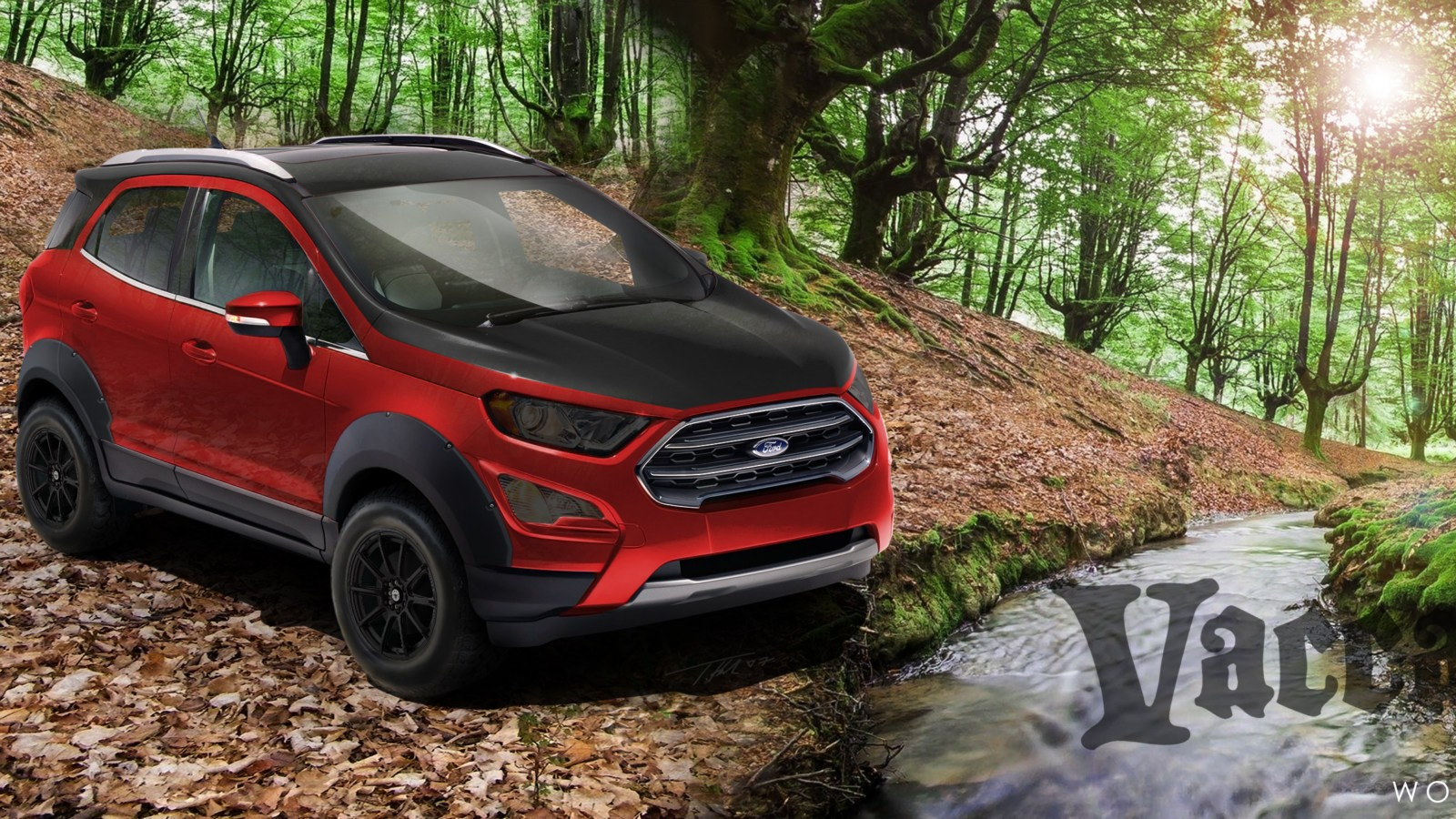 2018 Ford EcoSport Titanium created by Vaccar