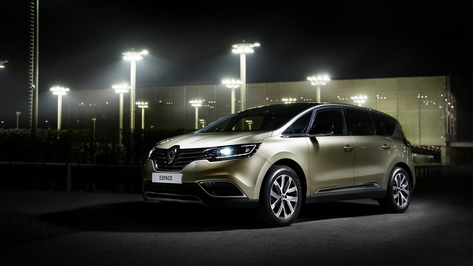 На фото: Renault Espace '2015–н.в.