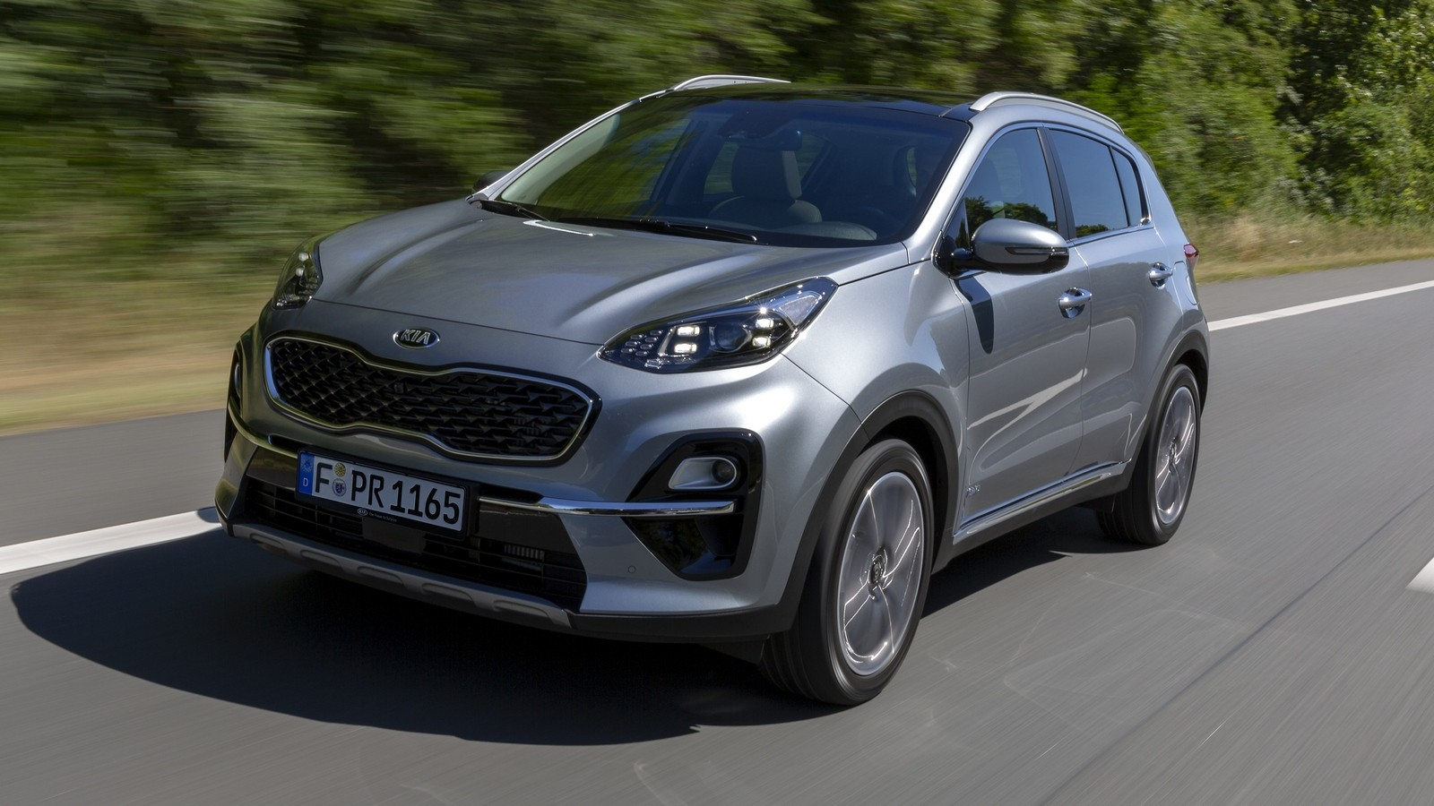 Kia Sportage Worldwide (QL) '2018