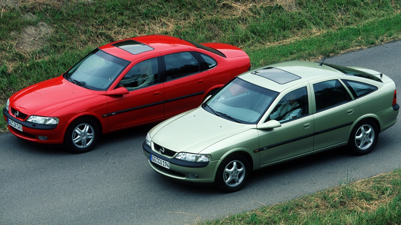 На фото: Opel Vectra (B) '1995–2002