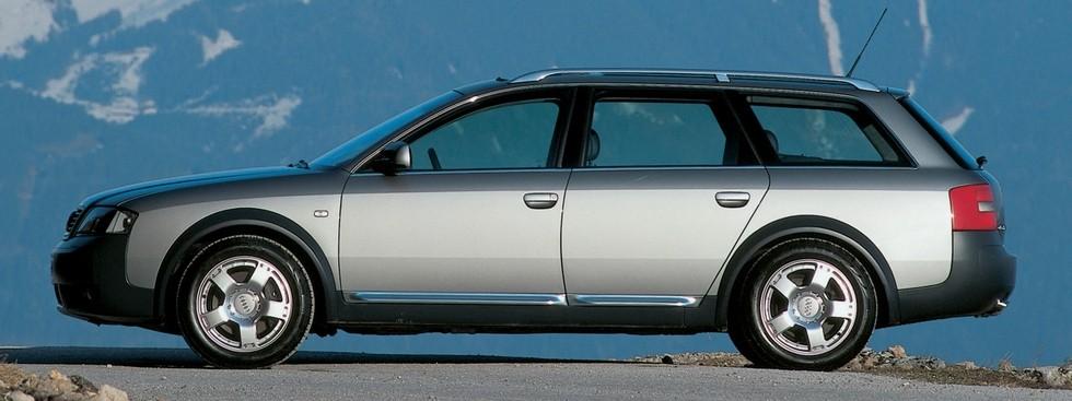 Audi Allroad 2.5 TDI quattro (4B,C5) '2000–06ч