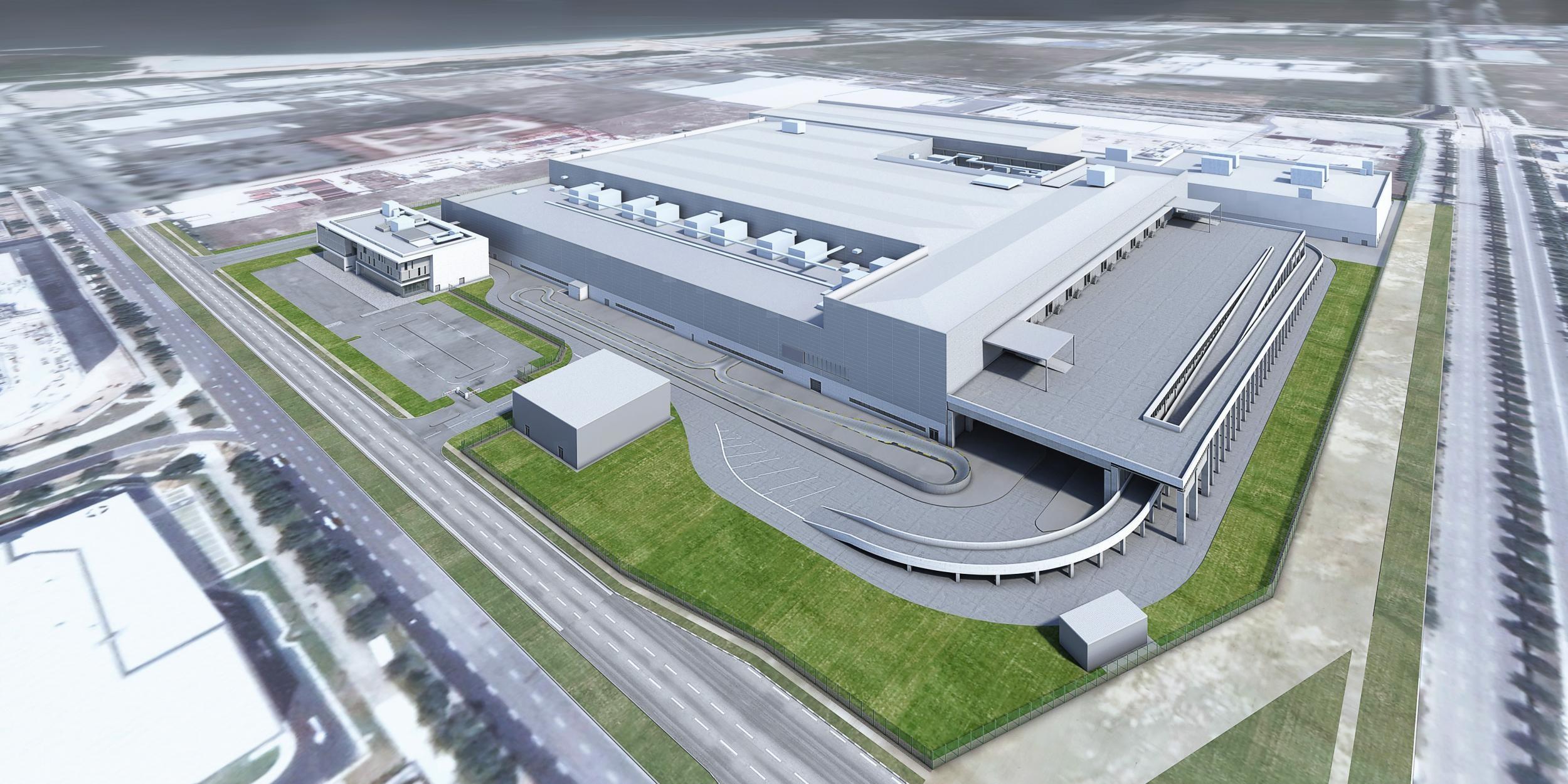 Dyson Singapore plant