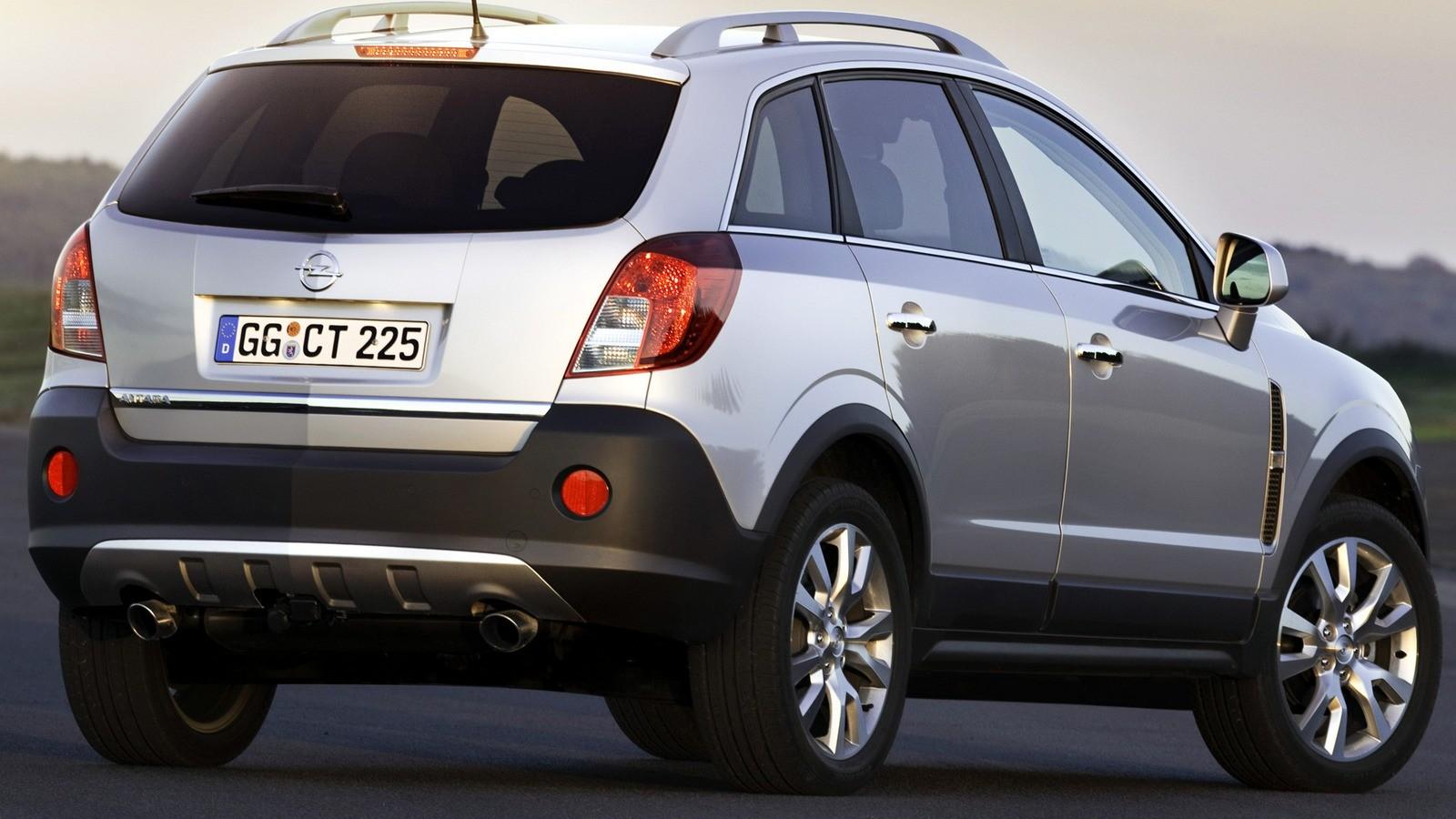 Opel antara с пробегом