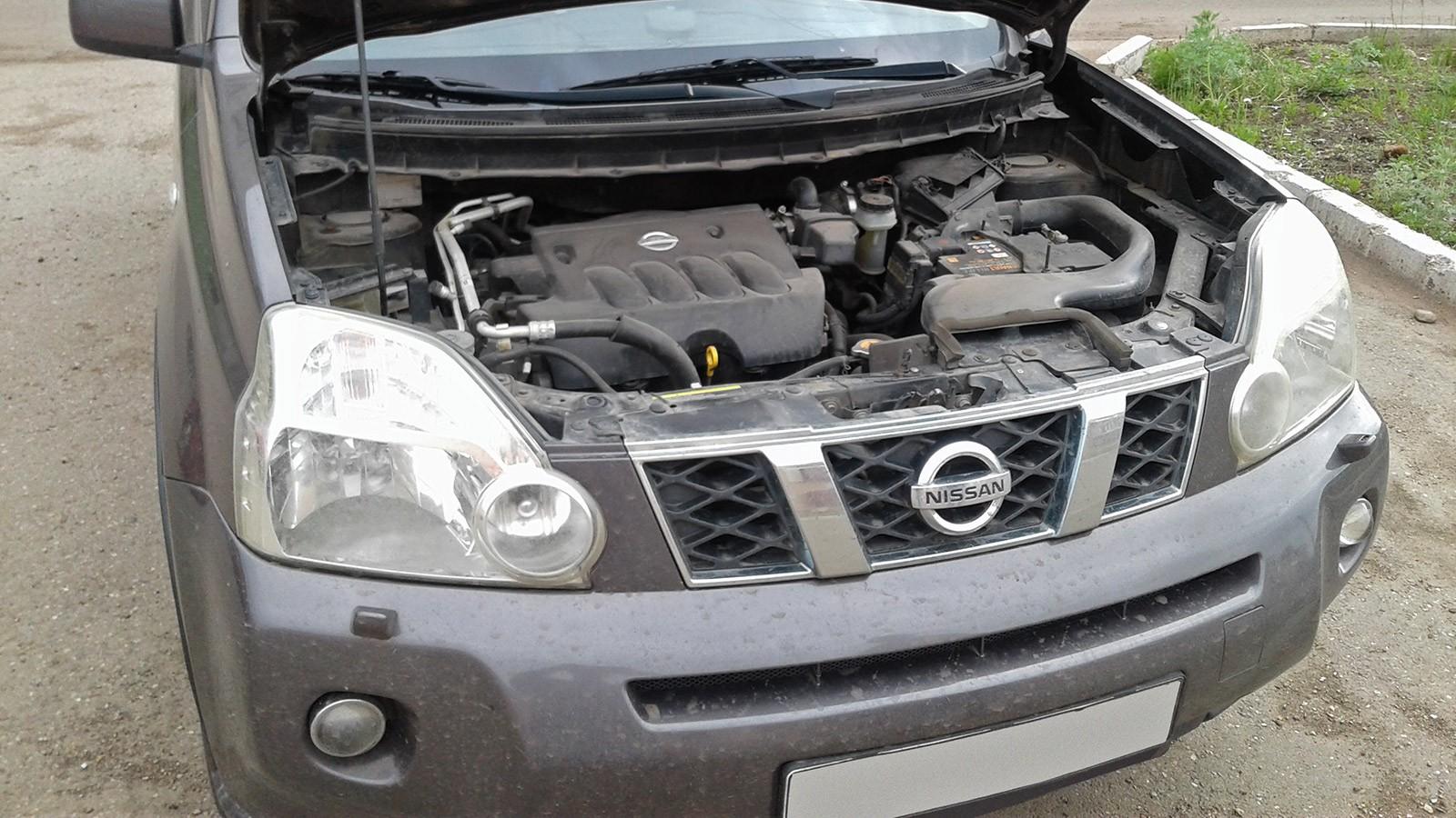 Nissan X-Trail II двигатель (3)