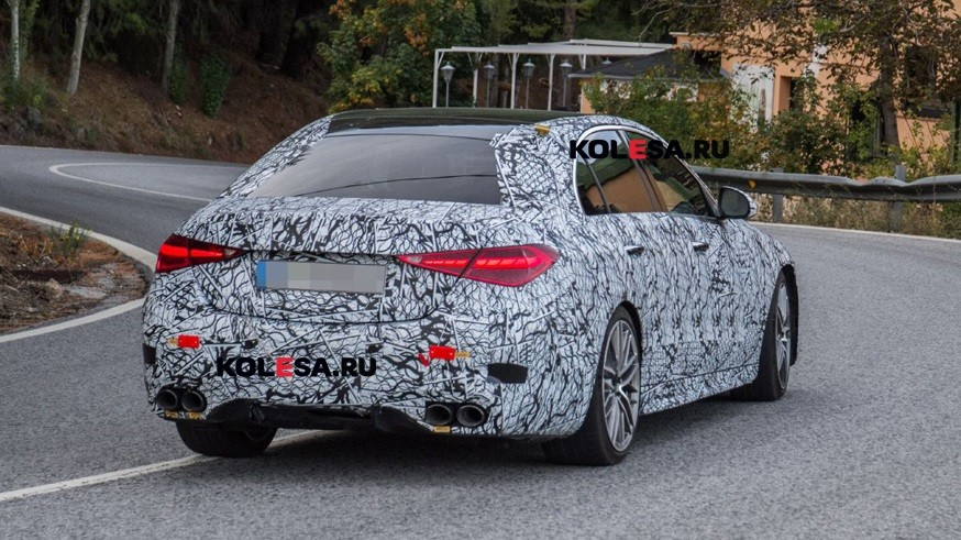 Расширение линейки C-Class: Mercedes-AMG тестирует C 43 4Matic