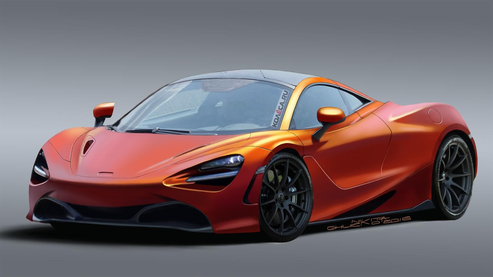 McLaren P14 front