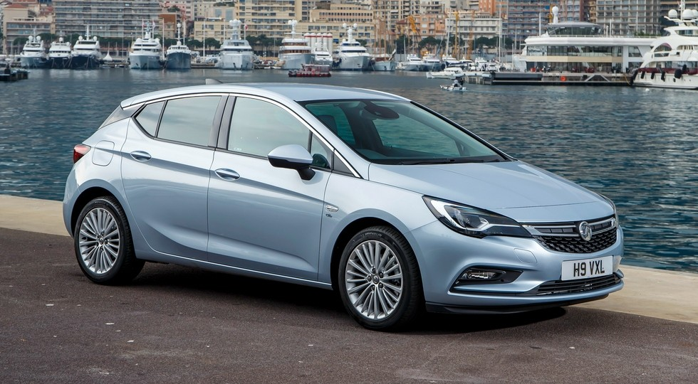В Великобритании модели Opel продают под местной маркой Vauxhall. На фото: Vauxhall Astra