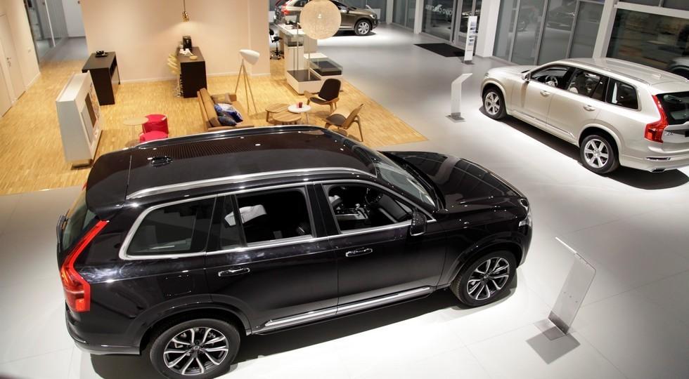 Volvo открывает новый дилерский центр в Туле