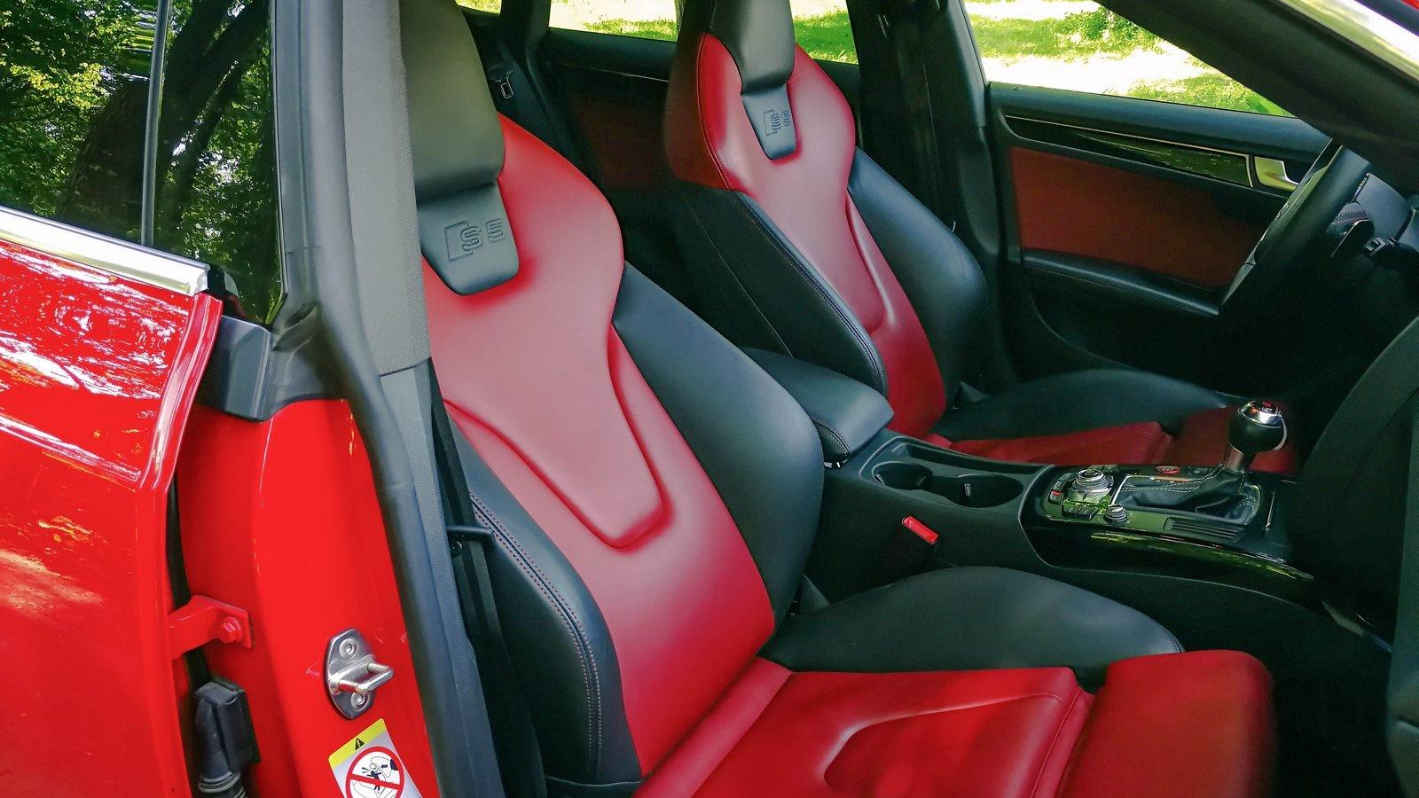 Audi A5 Sportback сидения