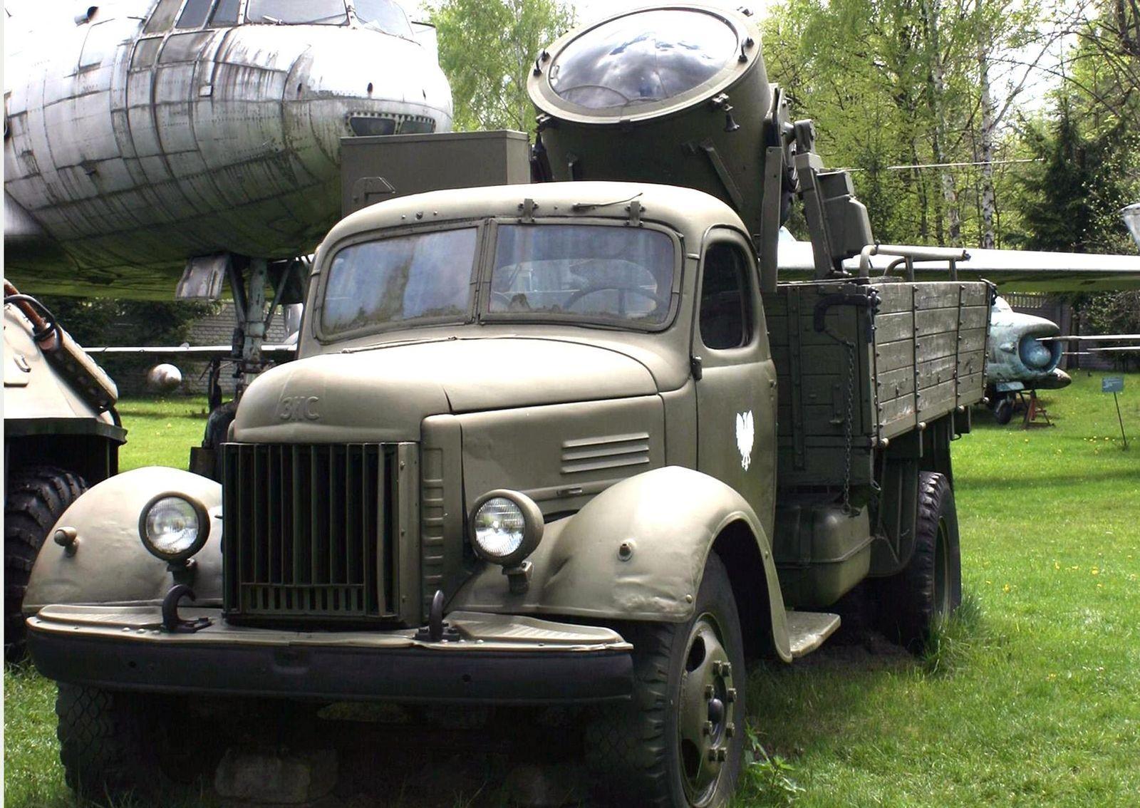 Гражданские волонтёры: послевоенные грузовики в Советской армии
