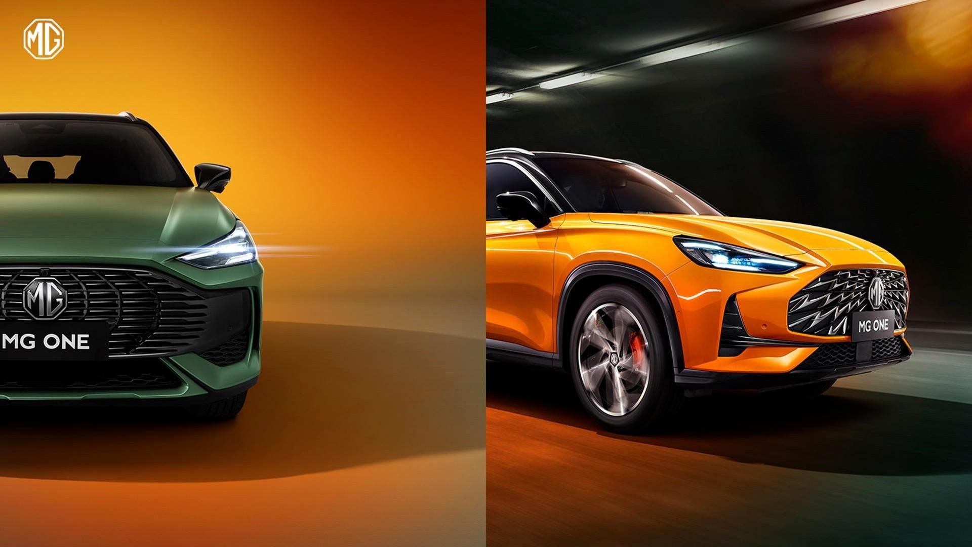Кроссовер MG One готовится к дебюту: новые фотографии