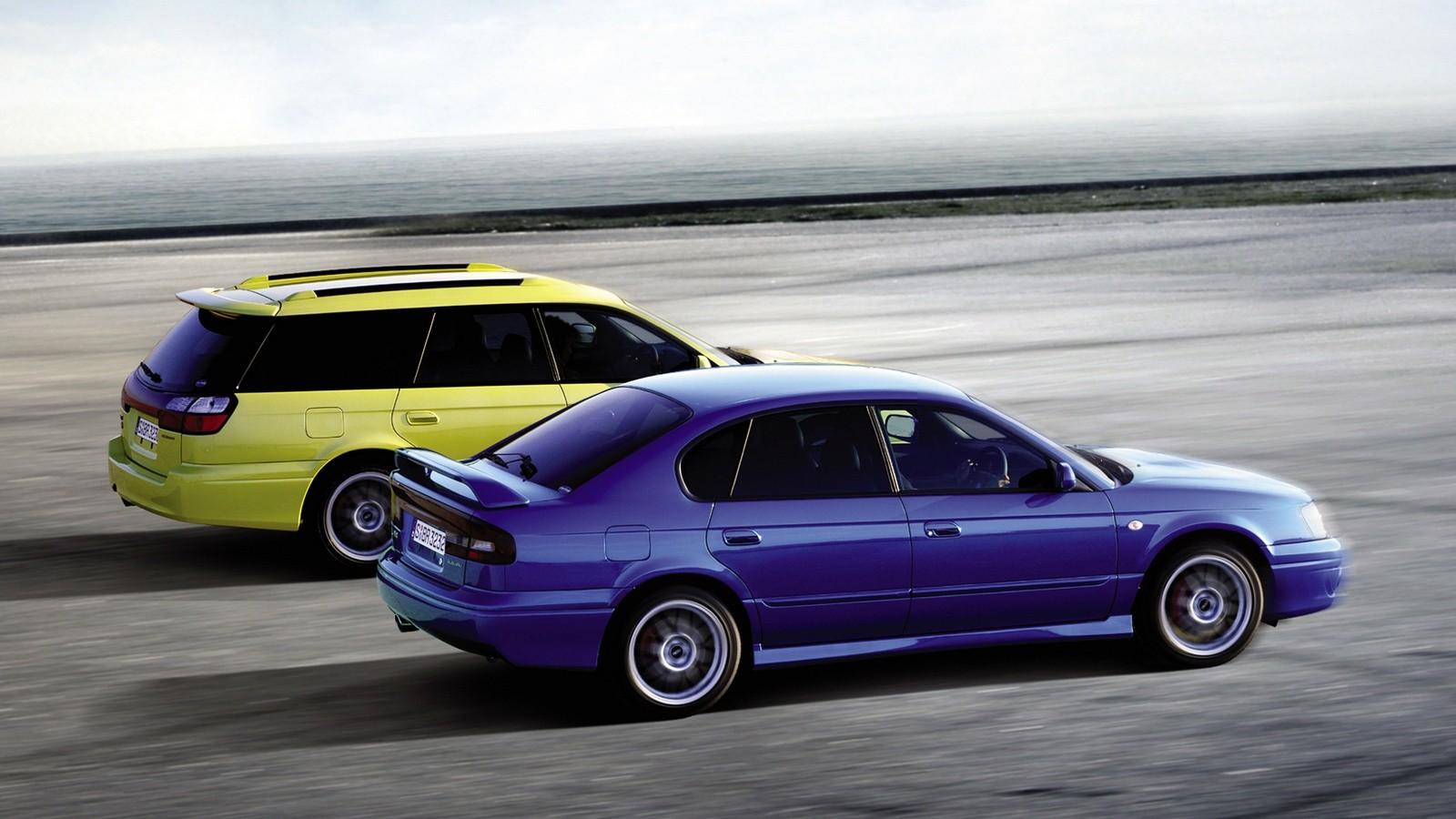 Subaru Legacy '1998–2004