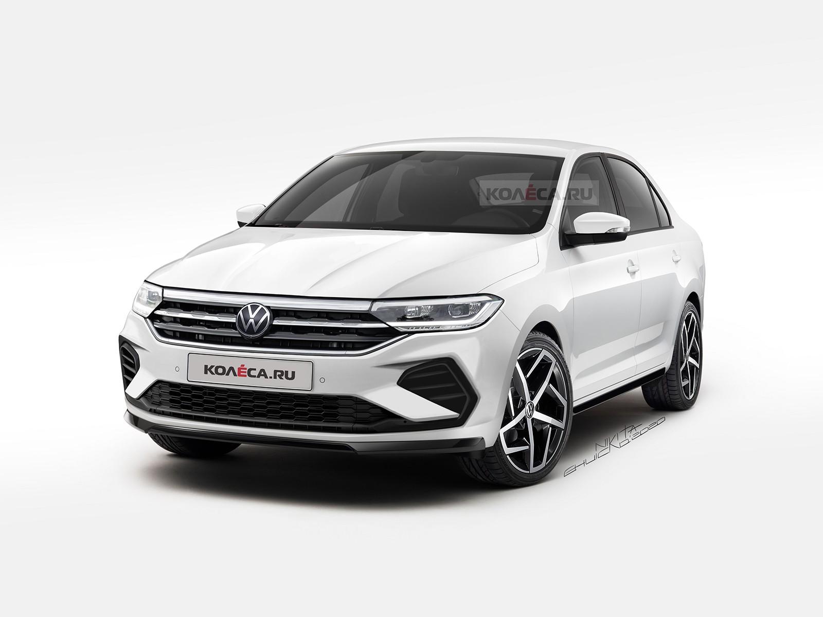 Volkswagen Polo для России новые изображения