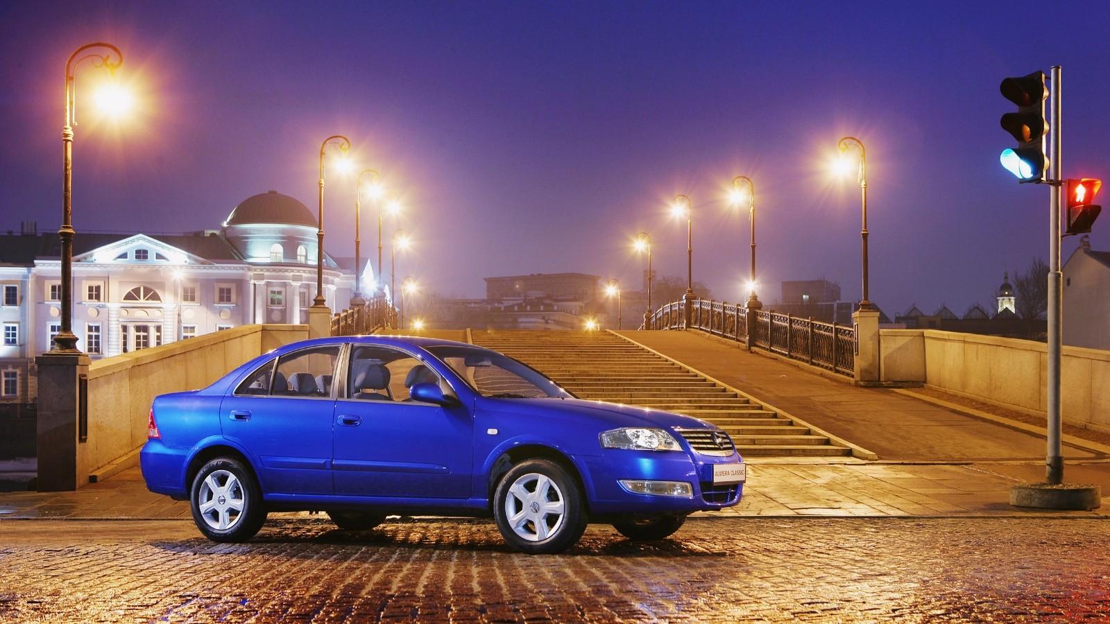 На фото: Nissan Almera Classic