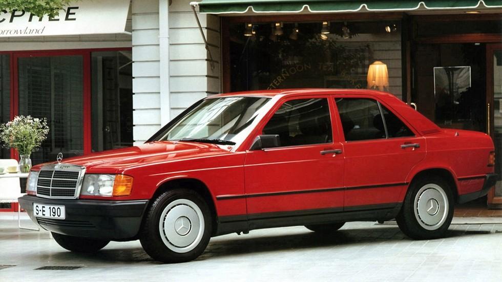 На фото: Mercedes-Benz 190 (W201) '1982–88