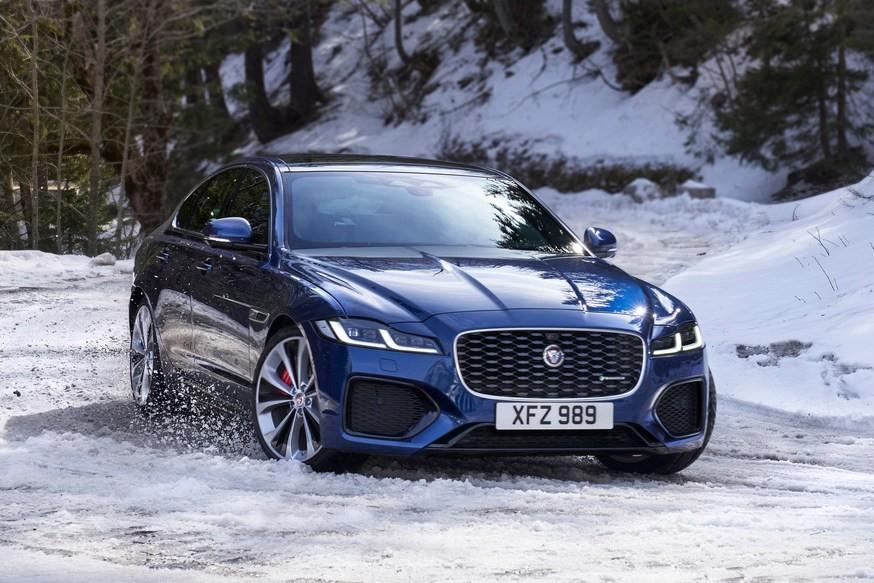 Обновлённый Jaguar XF: с перекроенным салоном и урезанной моторной гаммой, без «механики»