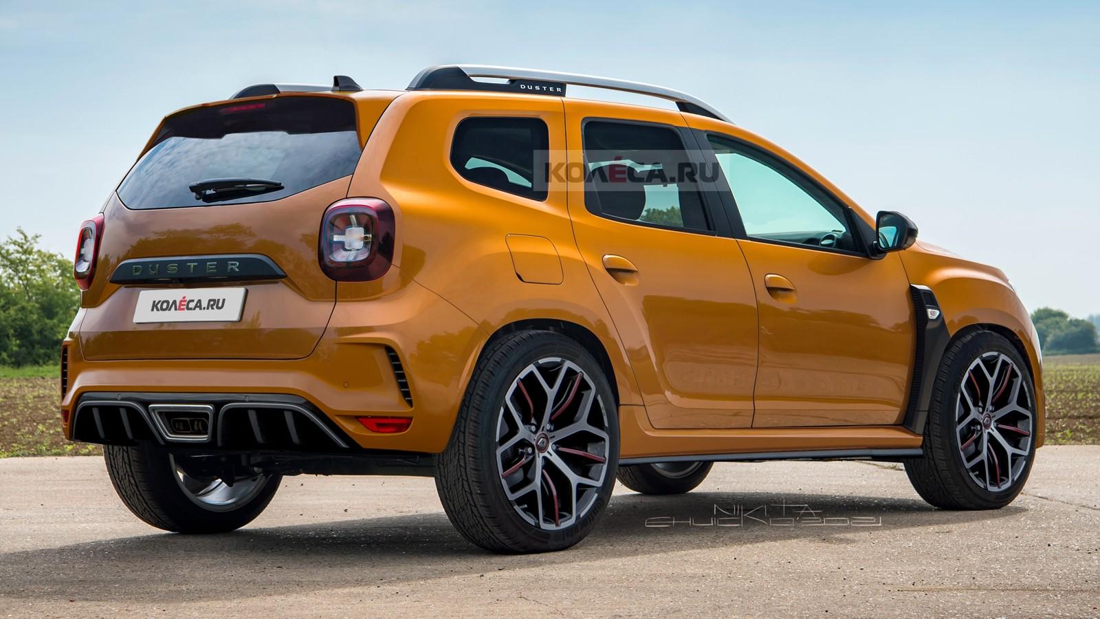 Дерзкий бюджетник: Renault Duster R.S.