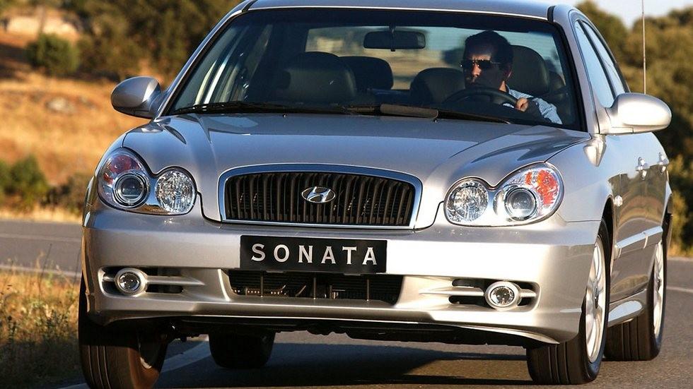Hyundai Sonata (EF) '01.2001–08.2004ж