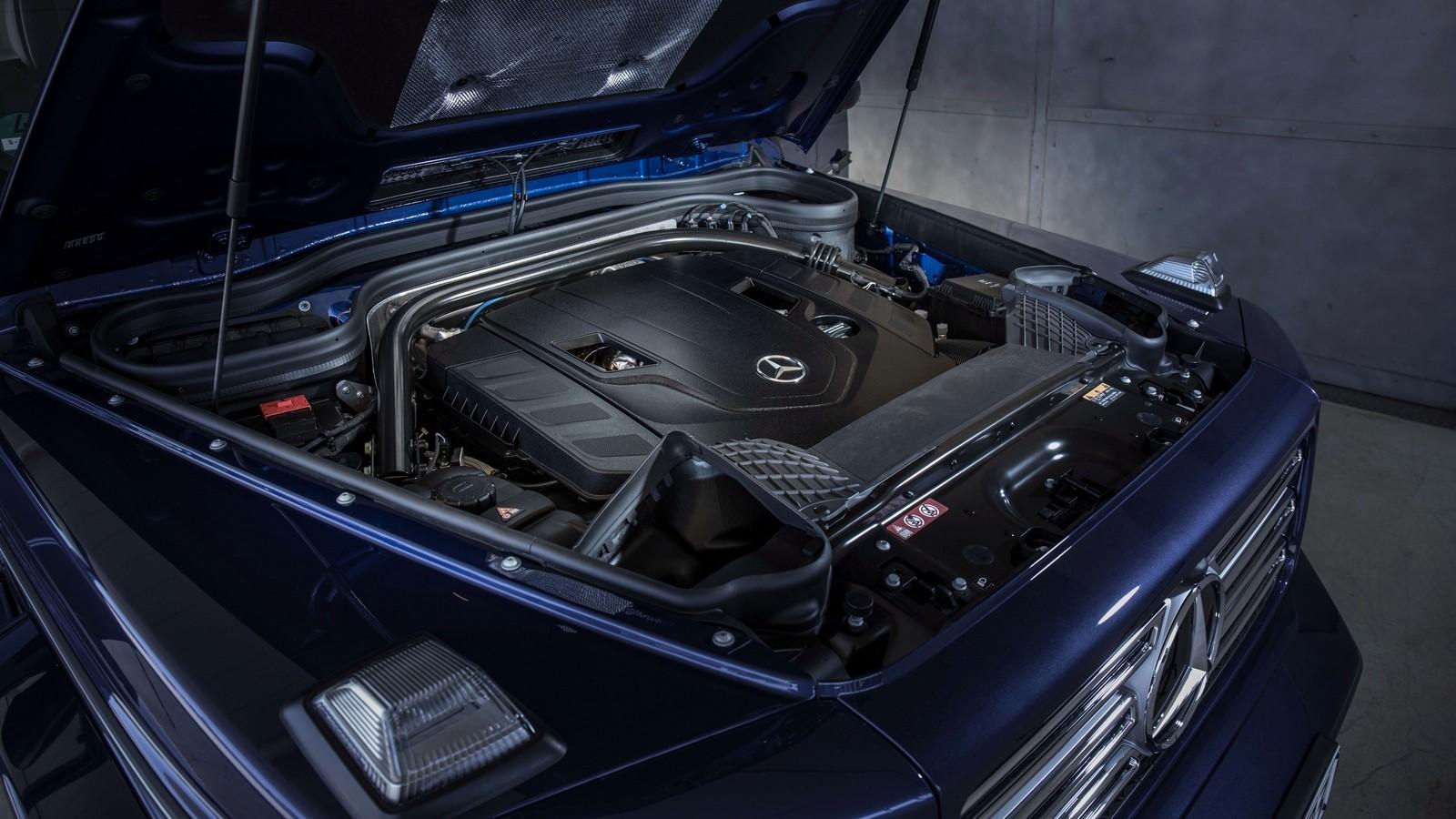 Под капотом Mercedes-Benz G 500 Worldwide (Br.463) '2018–н.в.