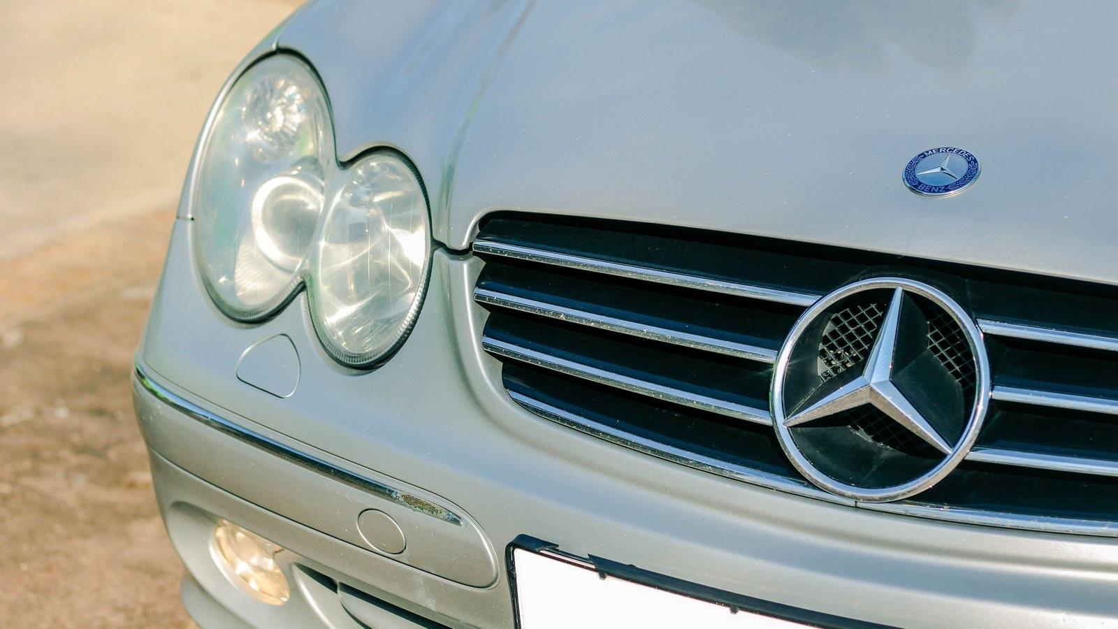 Mercedes-Benz CLK C209 фары