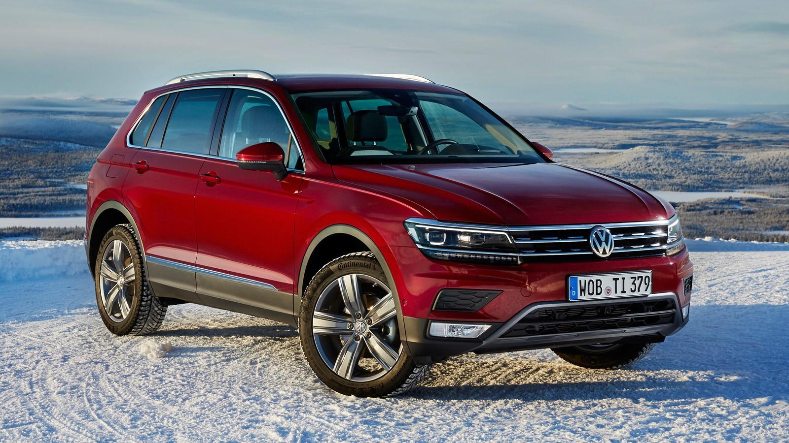 На фото: VW Tiguan нового поколения