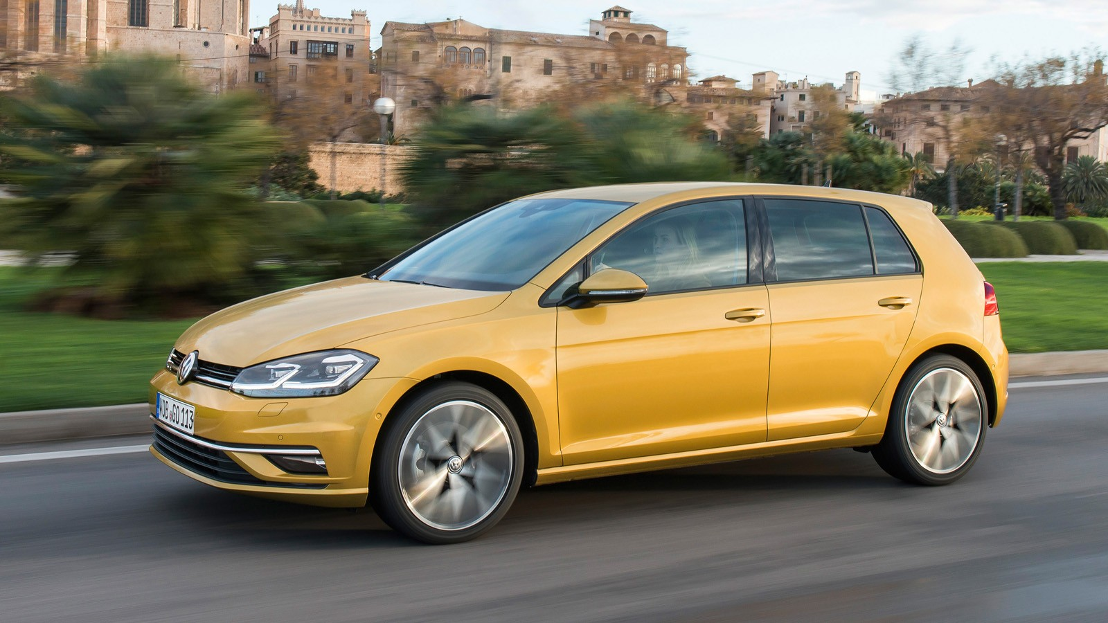 На фото: Volkswagen Golf