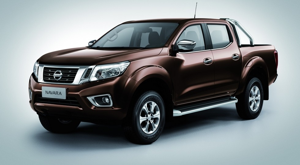 На фото: Nissan Navarra для Китая