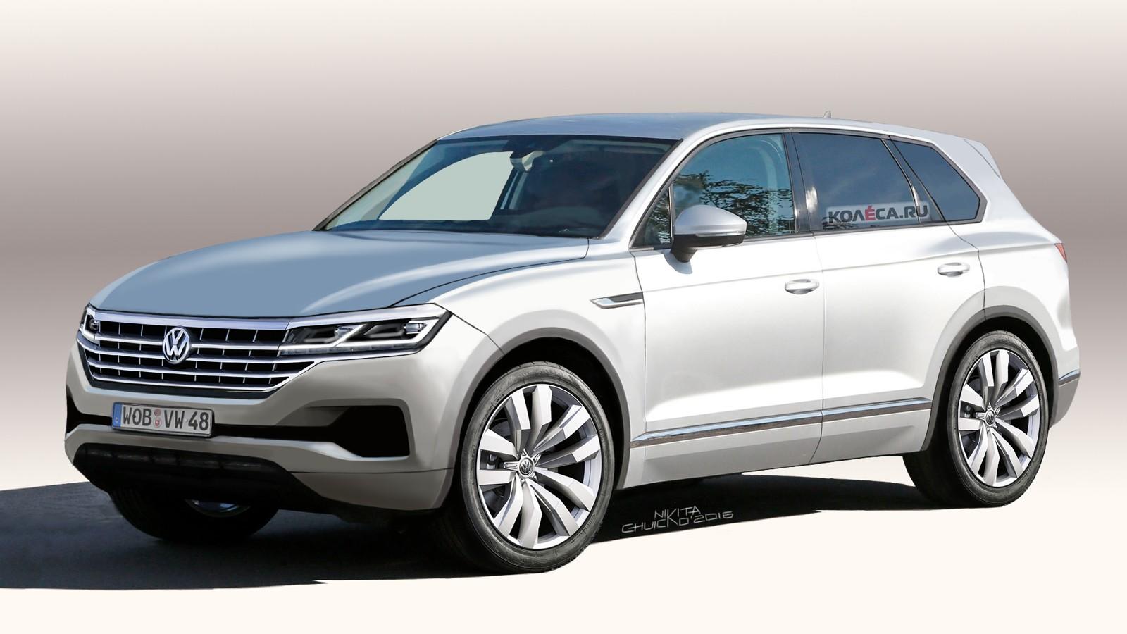 VW Touareg front