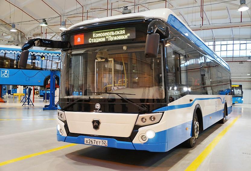 На фото: автобусы ГАЗ