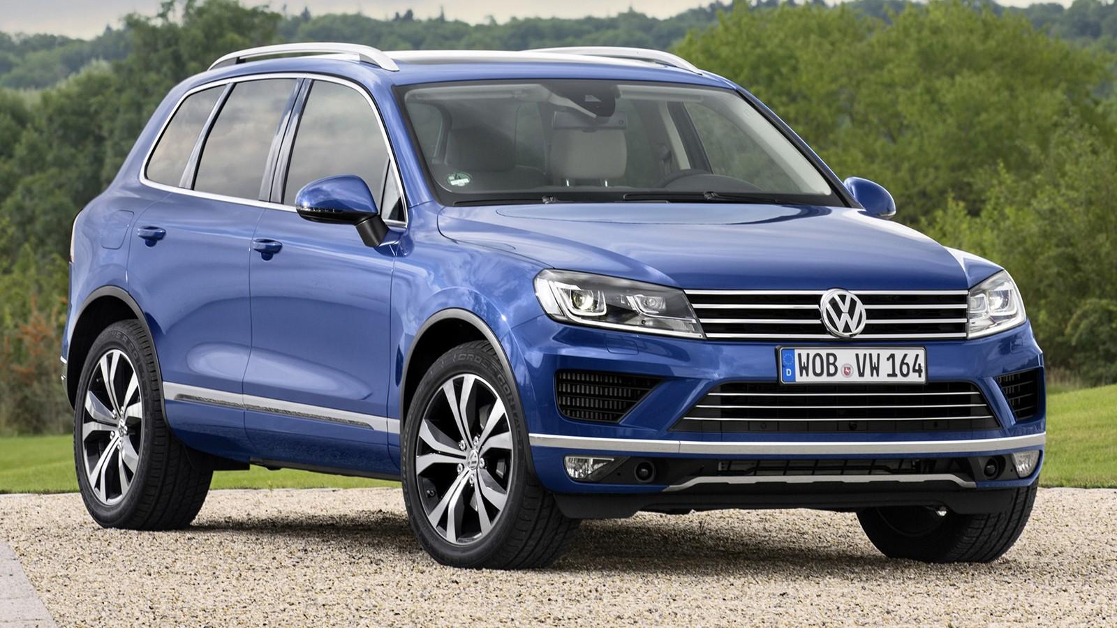 На фото: Volkswagen Touareg