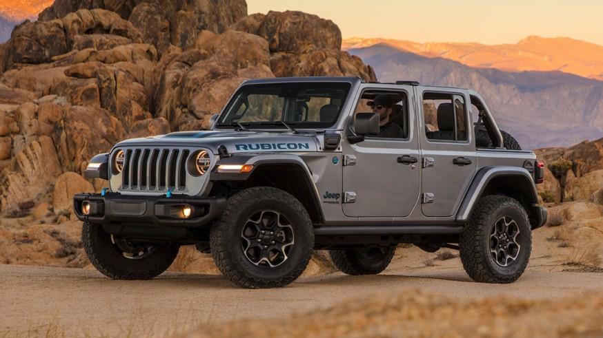 «Зелёный» внедорожник: Jeep дразнит тизером очередного Wrangler