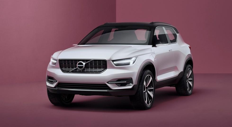 На фото: Volvo Concept 40.1, представленный в 2016 году. Концепт является предвестником кроссовера XC40