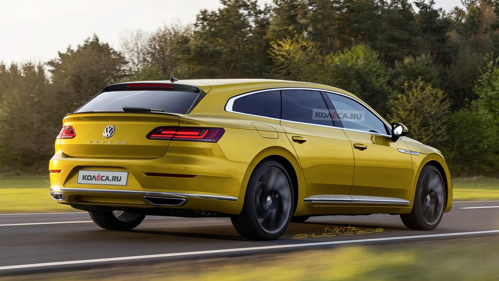 VW Arteon rear1