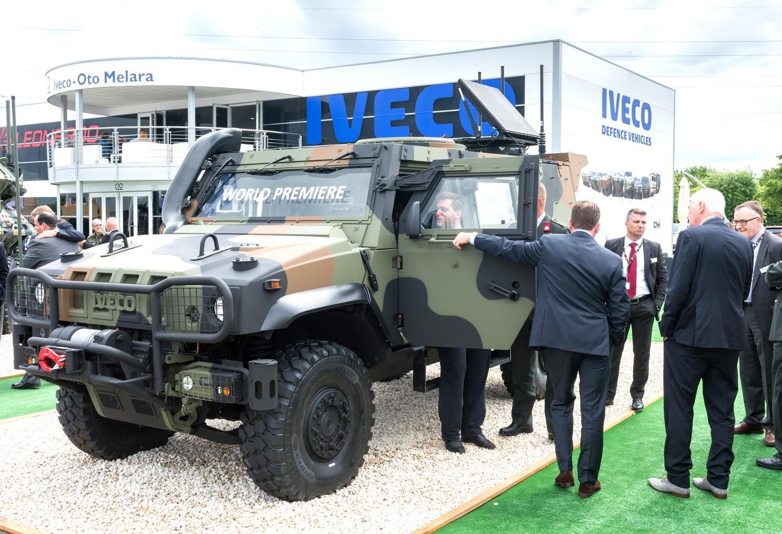 Мировая премьера легкой бронемашины IVECO LMV второго поколения