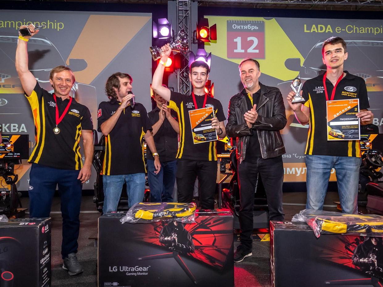 LADA e-Championship: итоги Гранд-Финала сезона 2019 года.