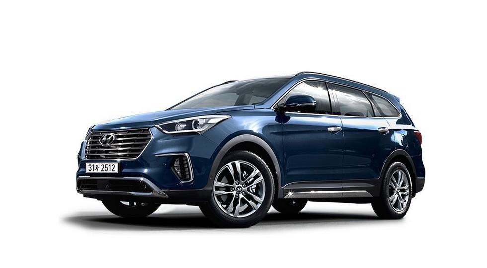 На фото: Hyundai Maxcruz-2017