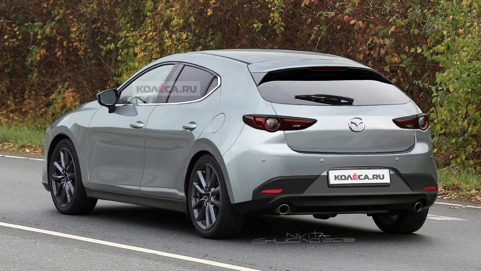 Mazda 3 new rear3